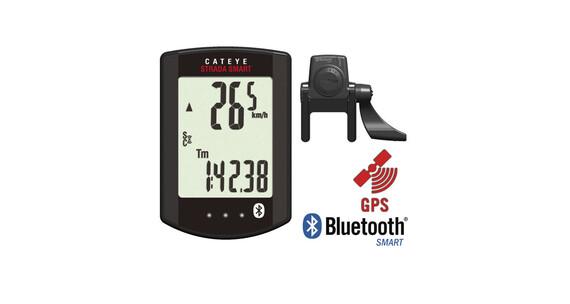 CatEye Strada Smart CC-RD500B Nawigacja GPS + Czujnik rytmu czarny